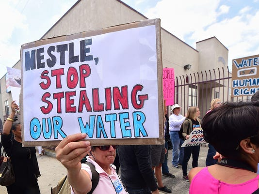 US-ENVIRONMENT-WATER-PROTEST-NESTLE