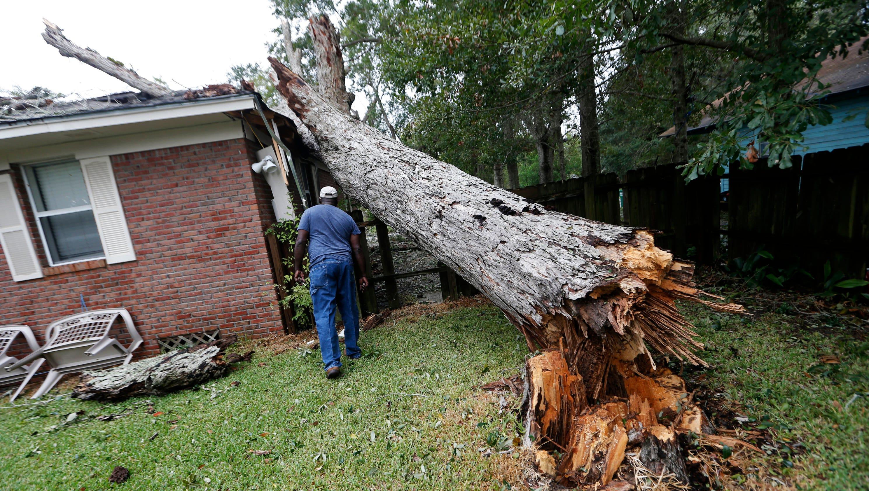Hurricane Nate Hits Gulf Coast With Heavy Rains And Winds