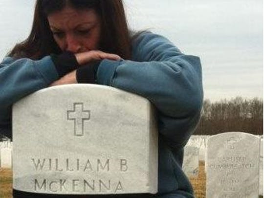 Dina McKenna lost her husband, Sgt. Bill McKenna, less