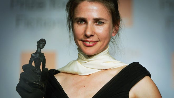 Author Lionel Shriver, writer of We Need To Talk About Kevin and winner of the Orange Prize For Fiction, poses for a photograph after receiving her prize, June 7, 2005 in London.