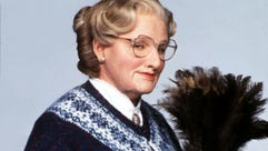 Robin Williams in the title role from the 1993 motion
