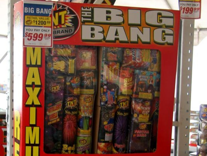 Fireworks have not been banned in Eddy County, which