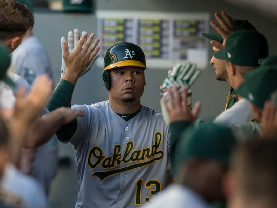 Bruce Maxwell has played in 104 career games and tweeted