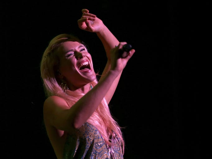 Joss Stone was the headliner for opening night of the