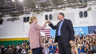 Clinton, Kaine