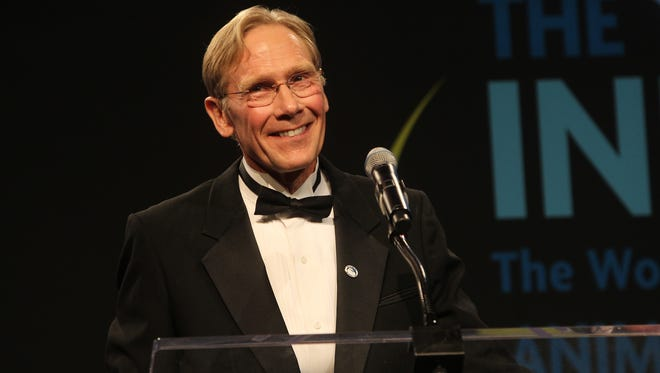 Dr. Steven Amstrup received the 2012 Indianapolis Prize for his research on polar bears.
