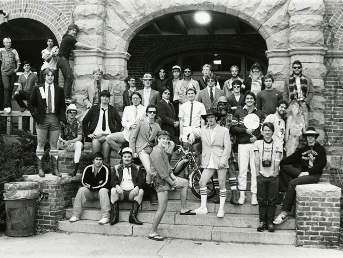 Life in the historic Lincoln Hall men's-only dormitory