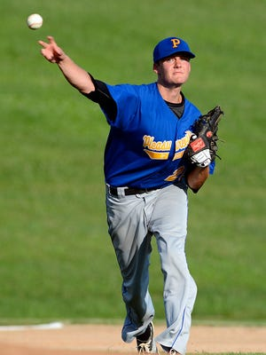 Beau Burris allowed just three hits over five innings to lead Pleasureville to a 10-0, five-inning, mercy-rule victory over Glen Rock on Monday night in York-Adams American Legion baseball action. Burris struck out seven.