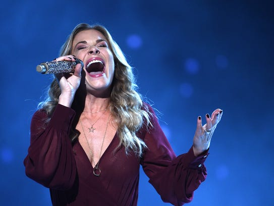 LeAnn Rimes performs during CMA's Country Christmas