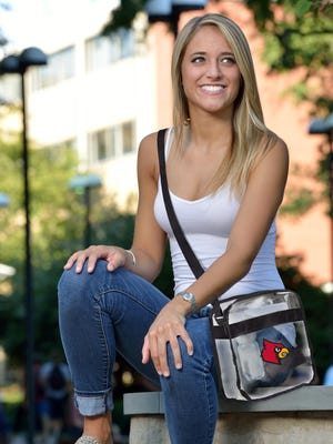 U of L Cardinal Clear Crossbody Carryall ($19.99) from Little Earth.