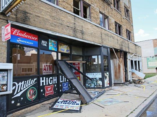 MJM Liquor Store, 2229 W. Fond du Lac Ave., was burglarized