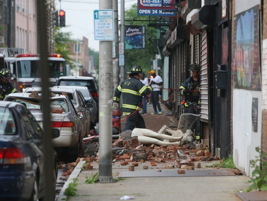 Academy Street Building Collapse