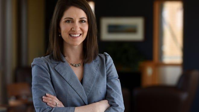 Stephanie Larscheid is the Executive Director of the Prairie Family Business Association.