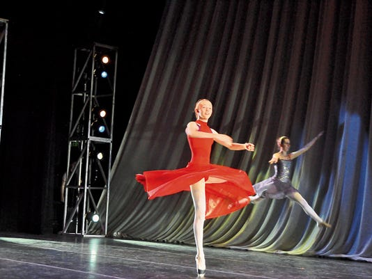 Dali's ballet students perform at the Spencer Theater of the Performing Arts in Alto.