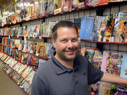 Comic Store West owner Brian Waltersdorff will host special events at the shop for Free Comic Book Day on Saturday, May 2.
