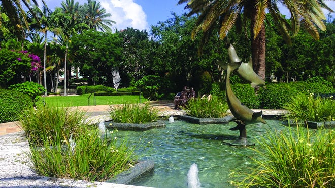 The Society of the Four Arts has reopened its Philip Hulitar Sculpture Garden and botanical gardens.