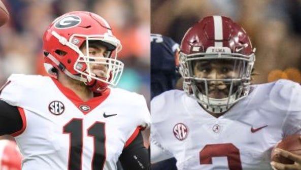 Georgia faces Alabama in the 2018 College Football