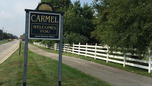 Indianapolis has agreed to let Carmel build three roundabouts along 96th Street.
