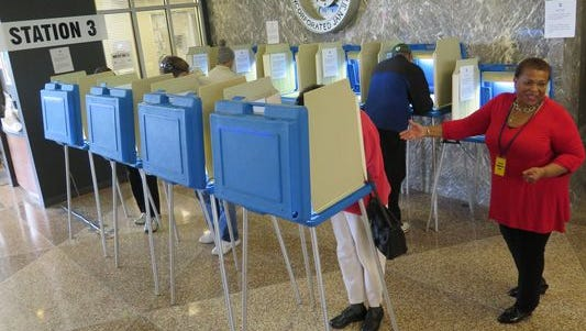 A federal judge ruled Tuesday that voters who face an undue burden in getting a photo ID can vote if they sign an affidavit.