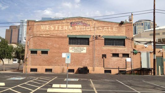 The Western Wholesale Co. Warehouse at 101 E. Jackson St. in Phoenix was built in 1925. It housed Alice Cooper'stown, which closed in October 2017.