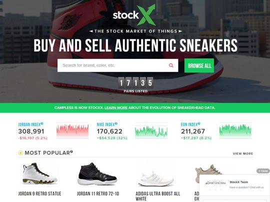 Dan Gilbert's latest venture is at stockx.com.