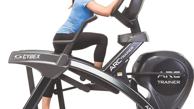 A study will test a treadmill vs. a Cybex Arc trainer like this one.