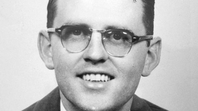 The Rev. James Reeb, a Unitarian minister, was beaten to death March 11, 1965, during the Selma to Montgomery march.
