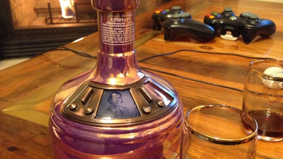"""Samuel Adams' pricey and limited """"Utopias."""