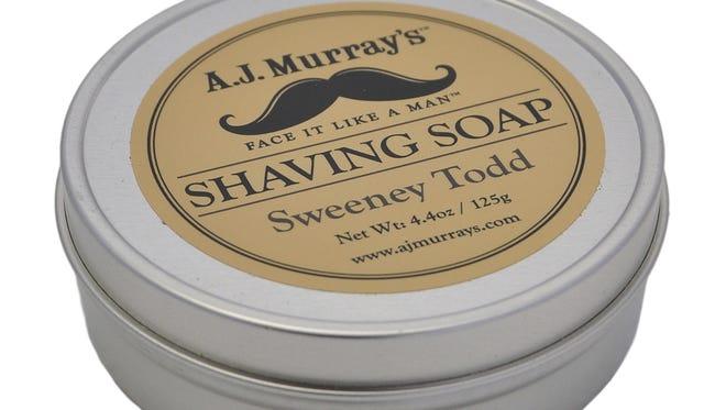 A.J. Murray's shaving soap