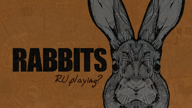 Here's a story, from the creator of 'Tanis,' about an alternate reality game that might cause players to go insane. 'Rabbits' is the serialized mystery of Carly's search for her friend, who participated in a game known as Rabbits before she went missing.
