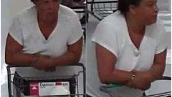 Springettsbury Township Police are asking for help in identifying this female theft suspect.