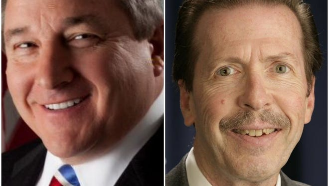 Republican Bill Reilich and Democrat Jim Leary vie for Greece Town Supervisor.