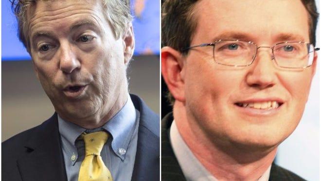U.S. Sen. Rand Paul and Kentucky Rep. Thomas Massie both endorsed Roy Moore.