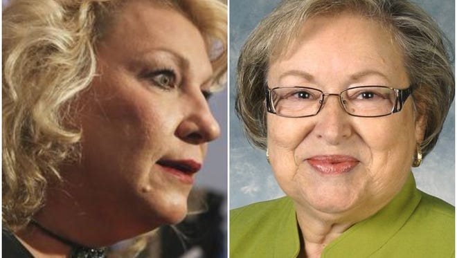 Rebecca Johnson (left) will face Linda Belcher (right) for a special election in District 49.