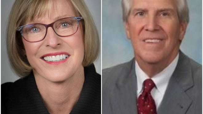 Janet Brekke and John Paulson are competing for the Sioux Falls City Council's At-Large A seat.