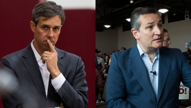 A race for the U.S. Senate between Republican incumbent Ted Cruz and Democrat Beto O'Rourke will be decided on November 6.