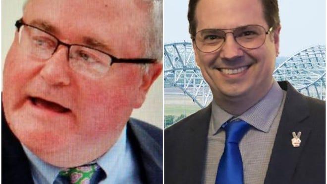 Mark Billingsley (left), Kevin Haley