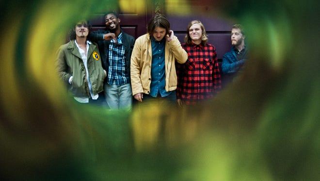 From left: Andrew Guinn, Tim Burkhead, Jim Barrett, Ben Yarbrough, Will Eubanks.
