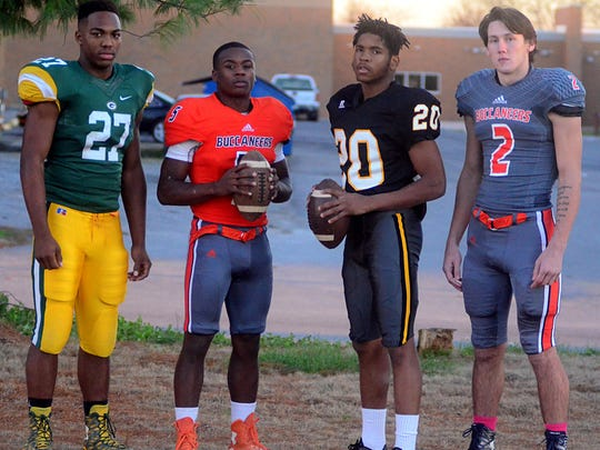 The players of the year on the All-County Football