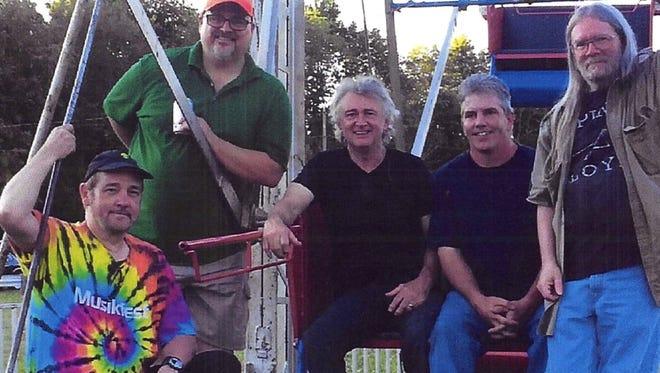 Members of the Ohio Express include, from left, Warren Sawyer, Bill Hutchman, Tim Corwin, Jeff Burgess and John Baker.
