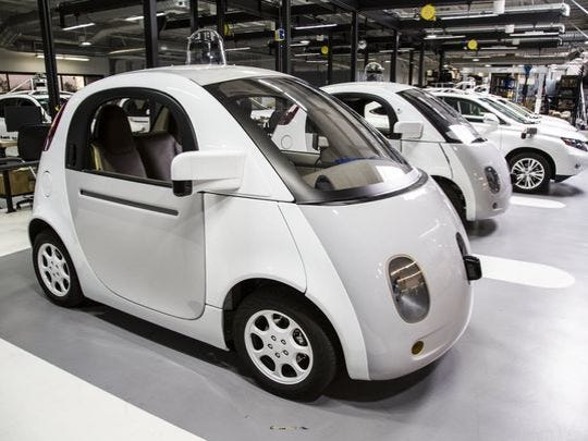 Google has taken an early lead in the future of self-driving cars.