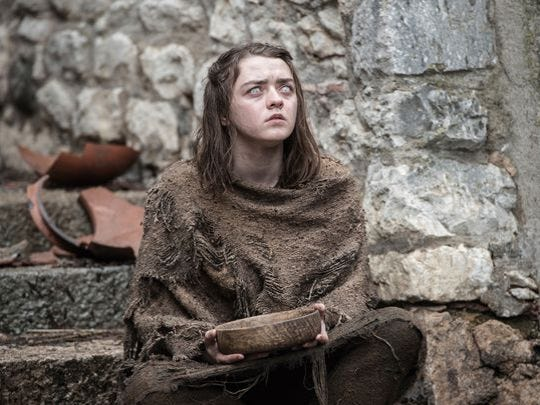 """Maisie Williams returns for another season of """"Game of Thrones."""""""