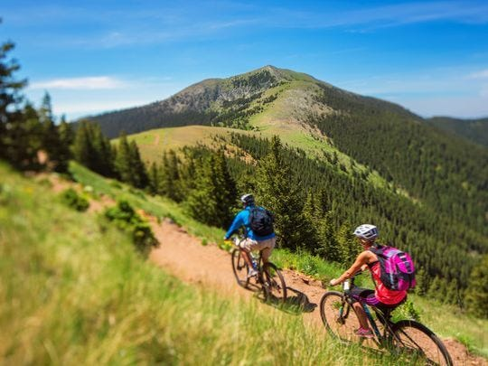 Ski Apache completed a new 5.5 mile mountain bike trail