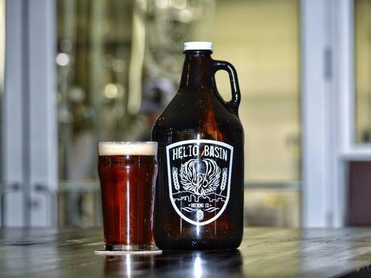 Cerveza en Helio Basin Brewing Co.
