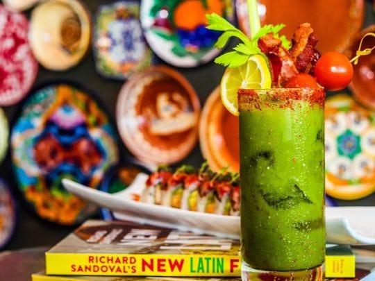 El verde bloody mary en Toro Latin Restaurant & Rum