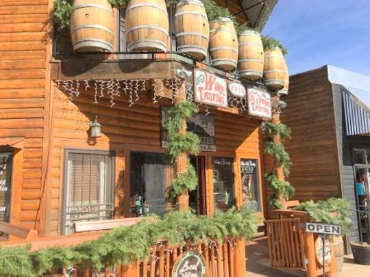 Noisy Waters Winery in midtown Ruidoso is near other businesses owned by Jasper Riddle.