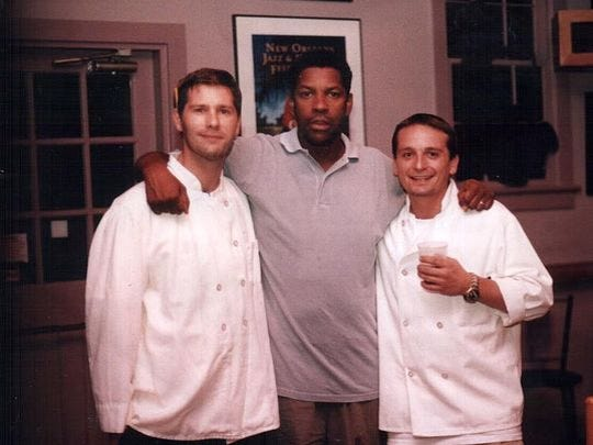 Denzel Washington with Sydney's Blues & Jazz Restaurant's