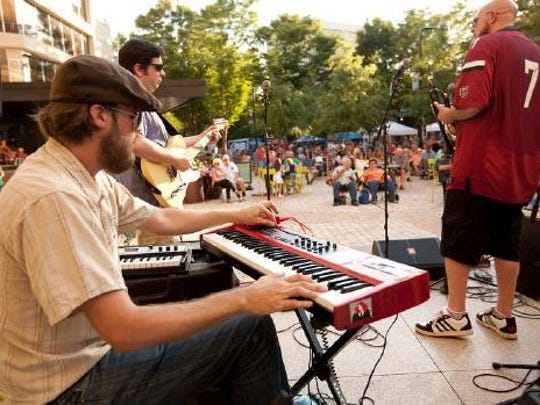 The outdoor music season opens March 17 with Piedmont