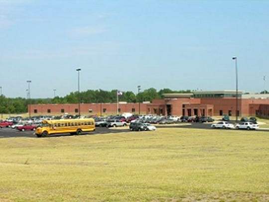 This file photo shows Horn Lake High School, part of the DeSoto County School District.