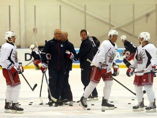 Rangers camp group